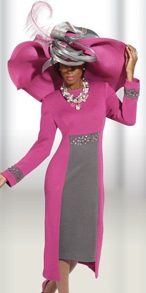 Elegant Women Church Suit | Women church suits, Sunday church sui