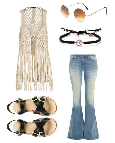 DIY Hippie Costume | Hippie outfits, Hippie costume, 70s costu