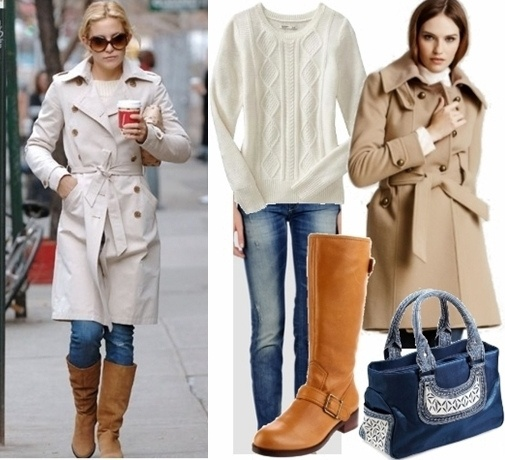 Trench Coat Outfit Idea 2 by Creative Fashion, via Flic