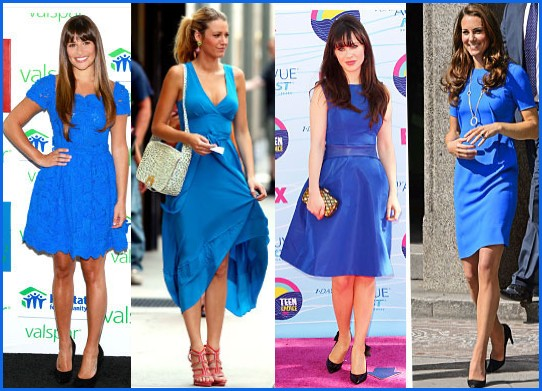 Wearing Tips For Cobalt Blue Dress-How to Choose Accessories [2020-2