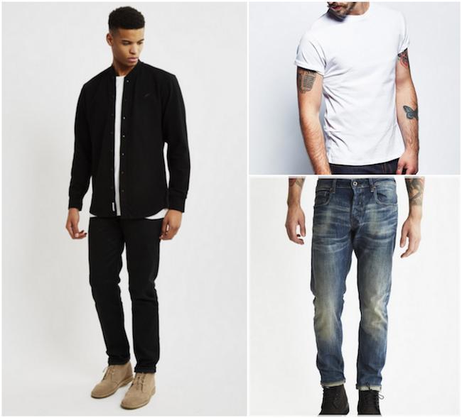 How to Wear Grandad Collar Shirt?Grandad Collar Shirt Outf