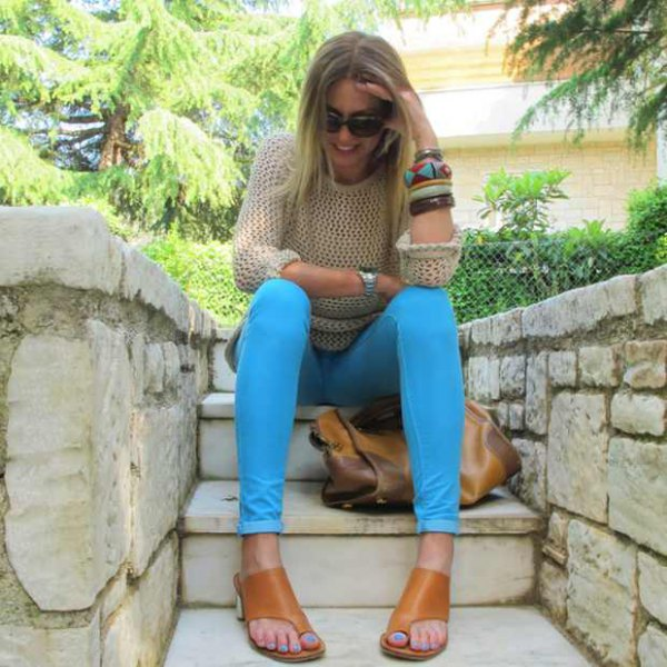How to Wear Colored Jeans: Top 15 Cheerful Outfit Ideas for Ladies .