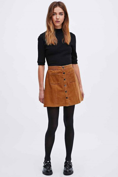 13 Best Brown Skirt Outfit Ideas: Ultimate Style Guide for Ladies .