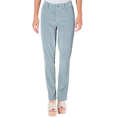 Amazon.com: NYDJ Womens Corduroy Slim Corduroy Pants Blue 14: Clothi