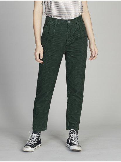 Quiksilver Womens Pleated Corduroy Pants 192504406065 | Quiksilv