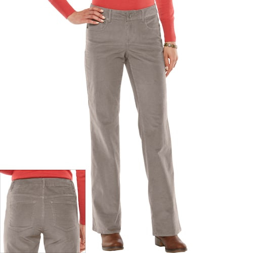 SONOMA Goods for Life™ Bootcut Corduroy Pants - Women