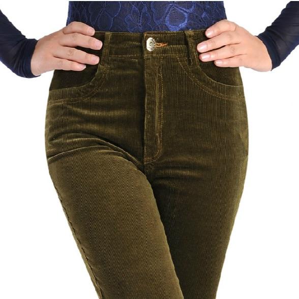 2020 Spring Corduroy Pants Women Stretch Women Loose High Waist .
