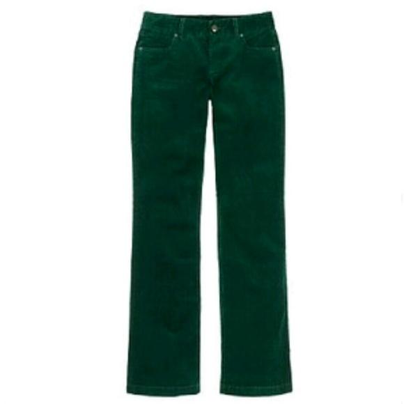 J. Crew Pants | J Crew Womens Emerald Green Corduroy | Poshma