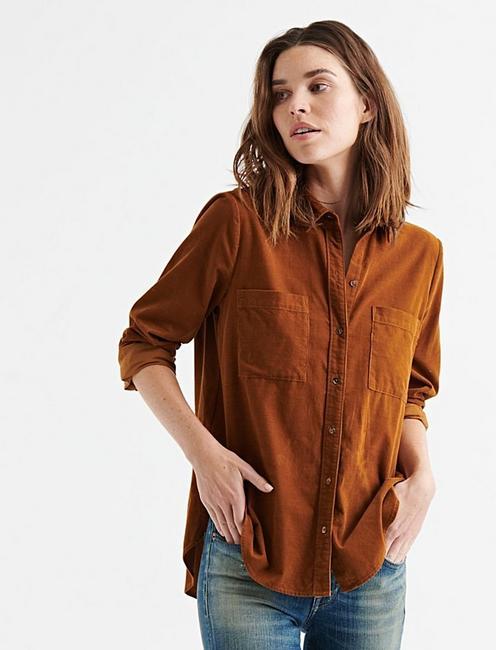 Corduroy Classic Shirt | Lucky Bra