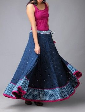 Buy Online | Long skirt outfits, Indian skirt, Skirt fashi