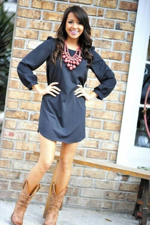 Outfit Ideas with Cowboy Boots | Love the cowboy boots | Fashion .