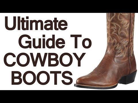 Man's Guide to Cowboy Boots | The Art of Manline