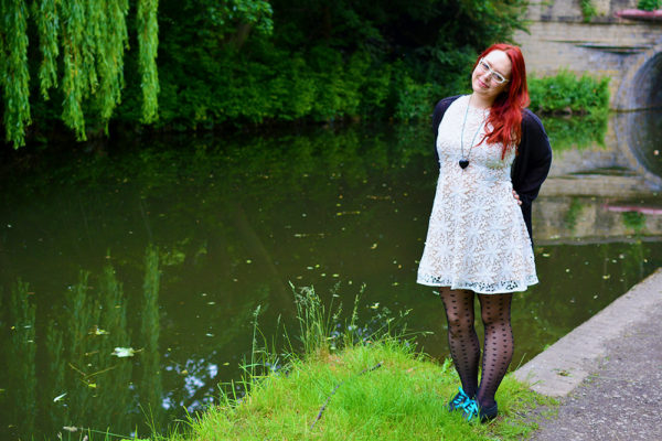 Blog Archive Outfit Post: White Lace Dress Outfit Ideas