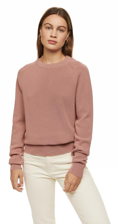 The Crewneck Sweater | Pink - Women's Sustainable Sweaters - Te
