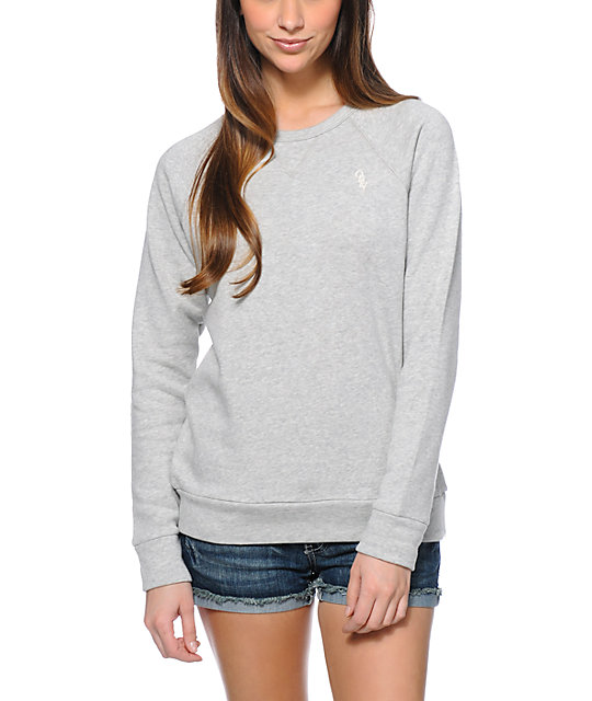 Obey Womens Lofty Mountain Ash Crew Neck Sweatshirt | Zumi