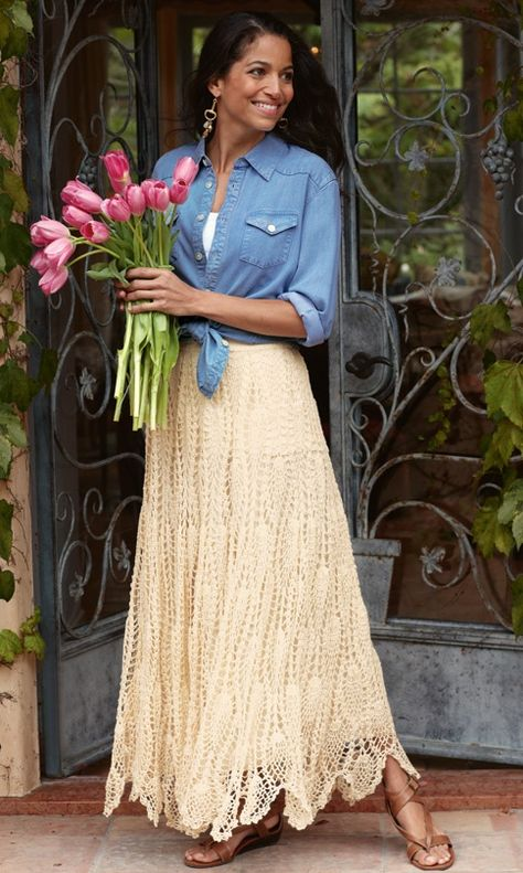45 Ideas For Crochet Skirt Outfit Ideas Shir