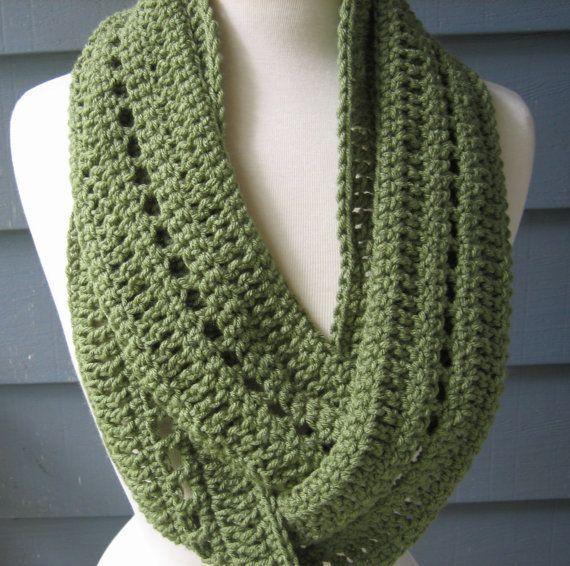Free Crochet Infinity Scarf Pattern | Crochet PATTERN pdf Phoebe .