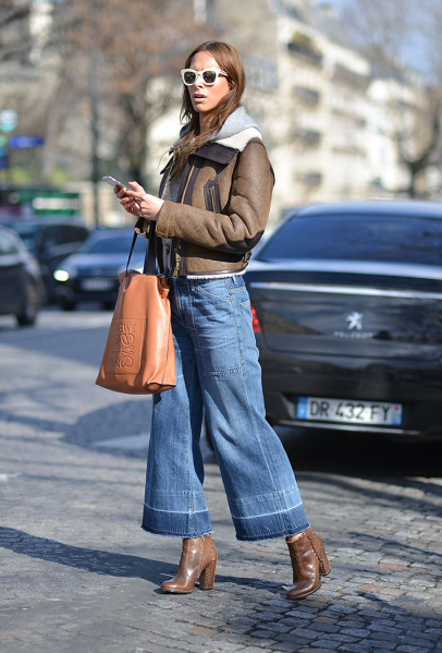 15 Ways to Wear Cropped Wide-Leg Pants | StyleCast