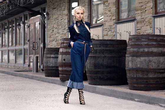 Krist Elle - Wholesale7 Cropped Wide Leg Pants, Wholesale7 Long .