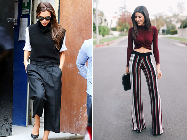 Embracing Wide Leg Pants in 2018 – Outfit Ideas - Global Fashion .