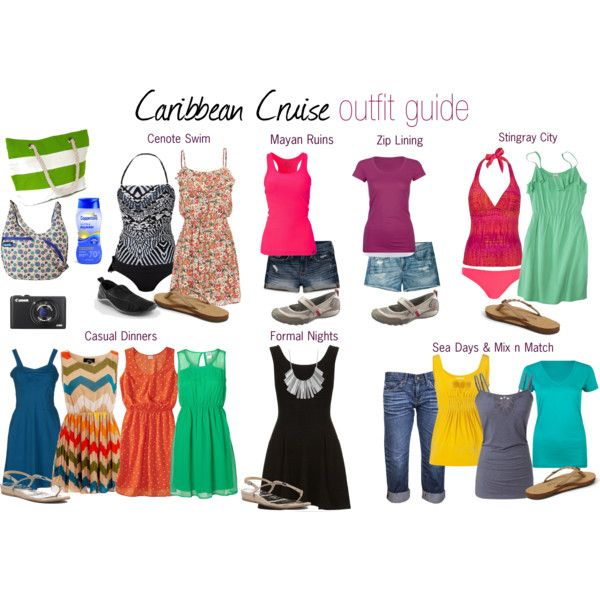 Caribbean Cruise Outfit Guide - 8 nights | Cruise attire, Cruise .