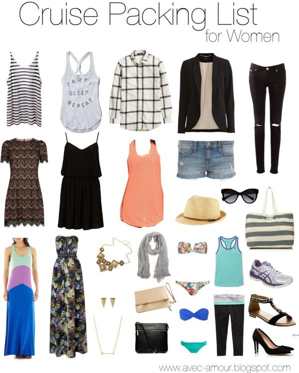 What to Pack for a Cruise | Packing for a cruise, Cruise outfits .