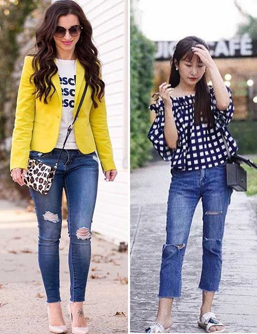 How To Dress If You Are A Petite Or A Short Woman | Jeans for .