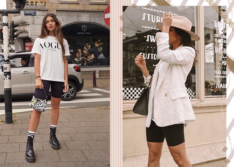 Bike Shorts Trend: 15 Coolest Biker Shorts for Easy-Breezy Outfits .