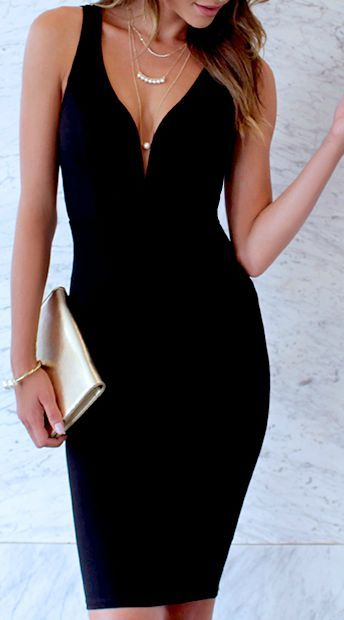 Gracefully Yours Black Dress | Outfit ideas | Dresses, Fashion .