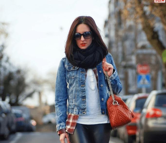 Outfits with Denim Jacket-20 Ideas How to Wear Denim Jacke