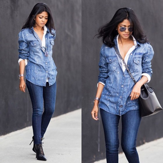 Denims Street styling ideas | | Just Trendy Gir
