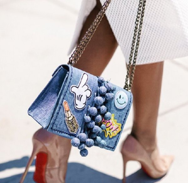 How to Wear Denim Handbag: Best 15 Stylish & Youthful Outfits for .