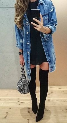 116 Best Long boots outfit images in 2020 | Fall outfits, Autumn .