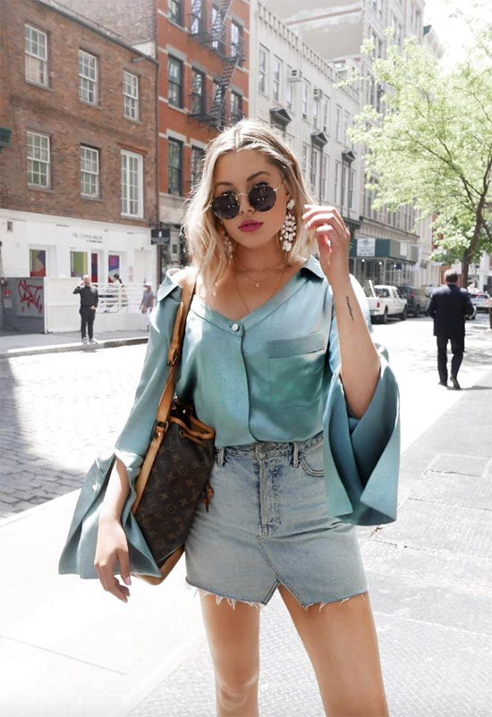 13 Covetable Denim Mini Skirts to Kick-Start Summer 2020 - Glows