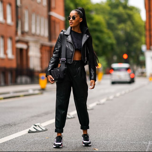 18 Cute Leather Jackets Outfits Ideas for Fall 20