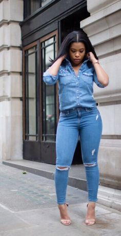 274 Best DISTRESSED JEANS images in 2020 | Cute outfits, Fashion .