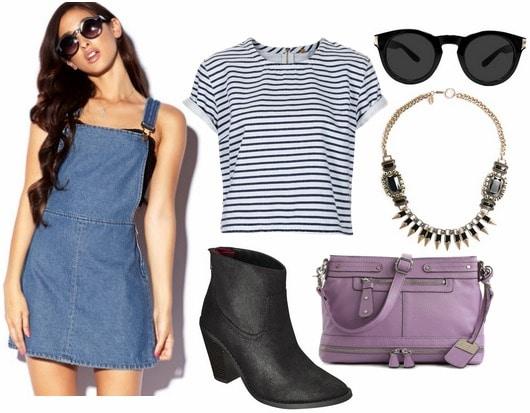 Outfit Ideas: 4 Cute Ways to Wear a Denim Dress - College Fashi