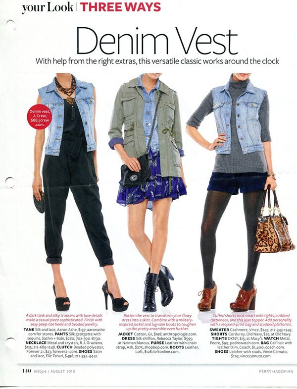 20 Style Tips On How To Wear Denim Vests, Outfit Ideas | Gurl.com .