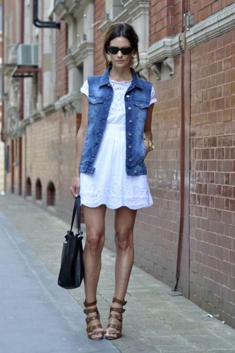 13 Ways You Can Still Wear Denim on Hot Summer Days | Denim .
