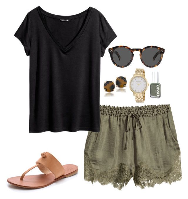 green shorts | Casual summer outfits, Fashion, Cute summer outfi