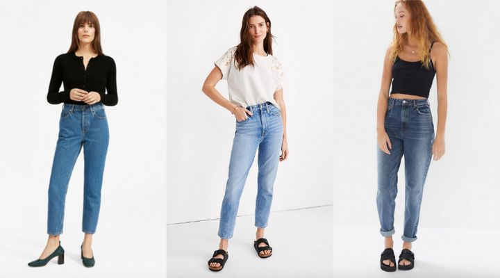 Mom Jeans That Actually Fit And Flatter Your Figure | HuffPost Li