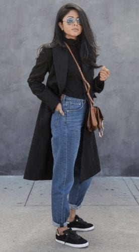 Outfits with Mom Jeans–25 Chic Ideas How to wear Mom Jea