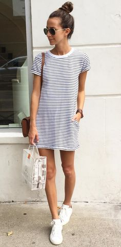 30 Best T-shirt dress outfit images | Cute outfits, Clothes, Outfi