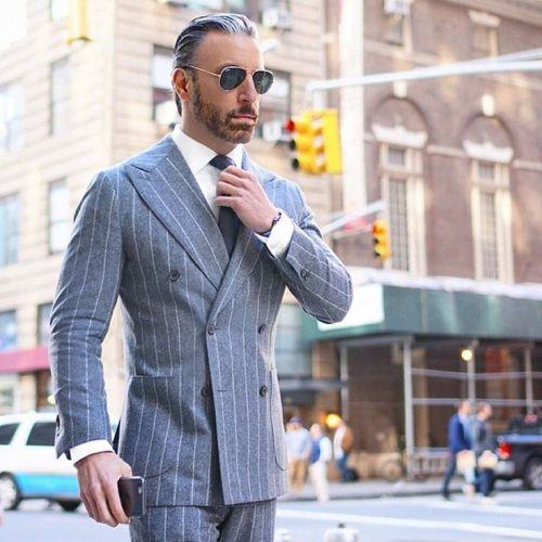 25 Ideas on How to Wear Double-Breasted Suits for M