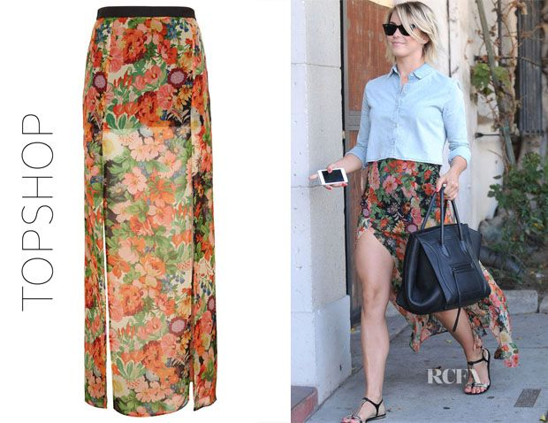 floral maxi skirt outfit ideas - Google Search (con imágenes) | Mo