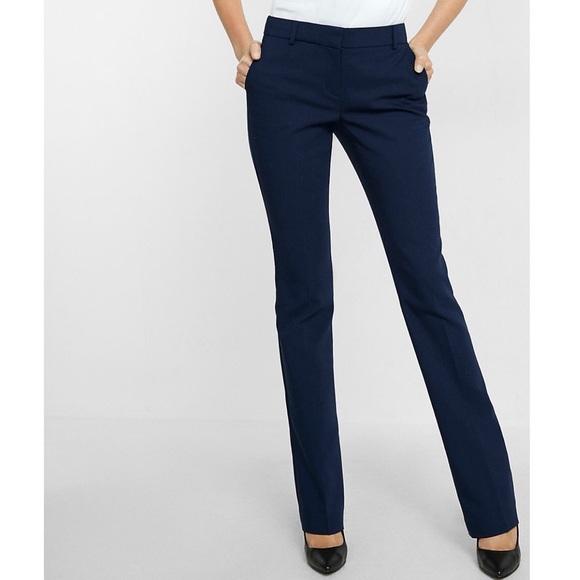 Calvin Klein Pants   Navy Blue Womens Dress   Poshma