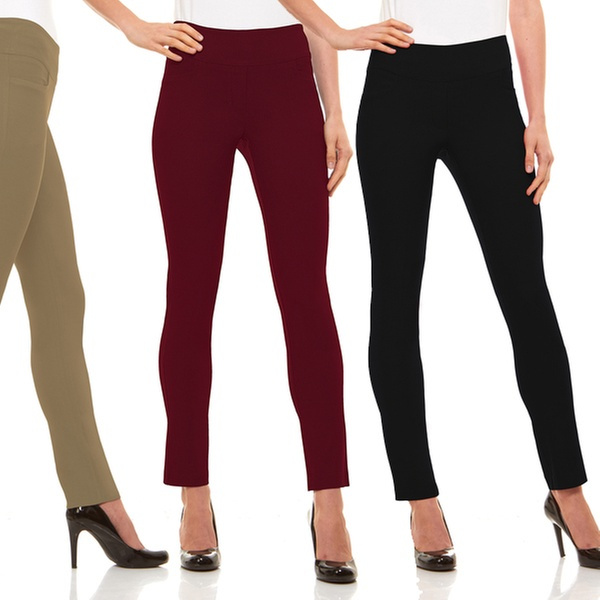 Up To 54% Off on Velucci Women's Dress Pants | Groupon Goo