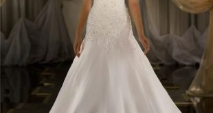 Bridal Inspiration: Lace Wedding Dresses | Drop waist wedding dre
