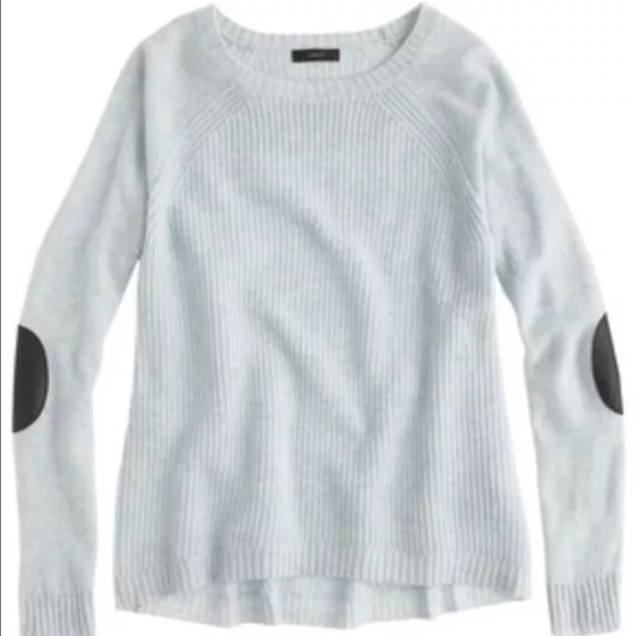 J.Crew Sweaters | Jcrew Womens Elbow Patch Sweater | Poshma