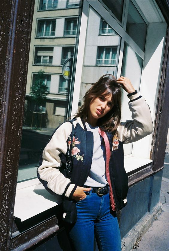How to wear the bomber jacket? - Personal Shopper Paris - Dress .
